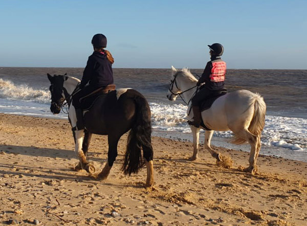 Beach Riding - Pakefield Riding School