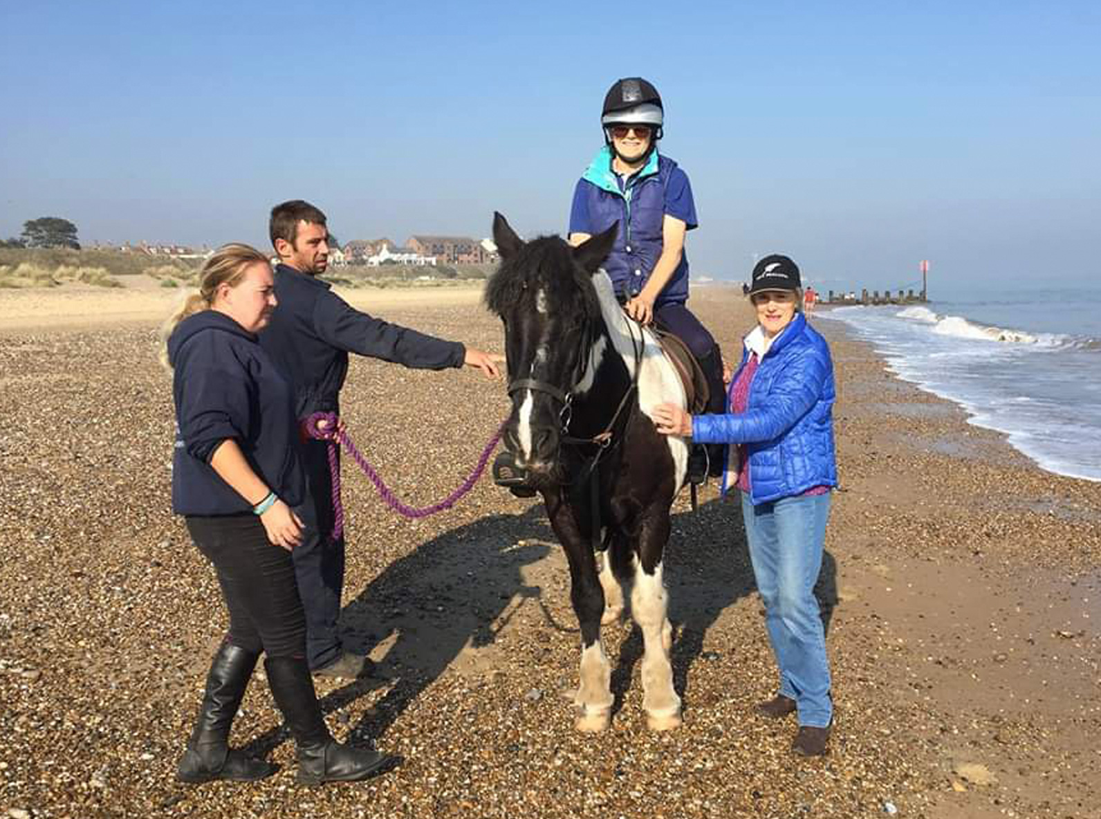 Horse riding for the disabled - Pakefield Riding School
